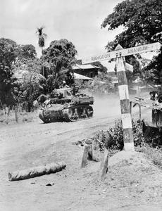 INDIAN TROOPS IN BURMA, 1945