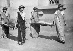 AIR RAID PRECAUTIONS IN INDIA, 1942