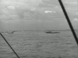 NAVAL ACTIVITY OFF JUNO AND GOLD BEACHES DURING OPERATION NEPTUNE [Main Title]