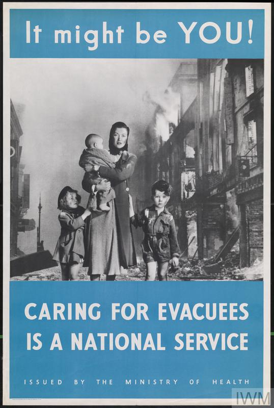 it might be you  caring for evacuees is a national service