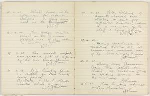Log Book for Evacuee School in Wigginton, Hertfordshire, 1939-1942