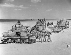 6TH SOUTH AFRICAN ARMOURED DIVISION IN TRAINING IN THE MIDDLE EAST, 2 SEPTEMBER 1943