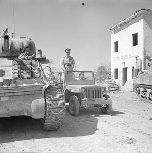 COMMONWEALTH FORCES IN ITALY 1944