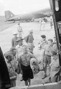 THE ROYAL AIR FORCE IN BURMA AND INDIA, 1945-1946