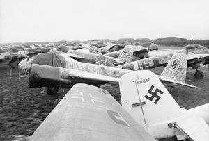 THE ROYAL AIR FORCE IN DENMARK FOLLOWING THE LIBERATION, 1945