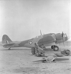 ROYAL AIR FORCE: OPERATIONS IN THE MIDDLE EAST AND NORTH AFRICA, 1939-1943.
