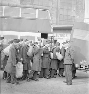 ROYAL AIR FORCE: DEMOBILISATION, 1945.
