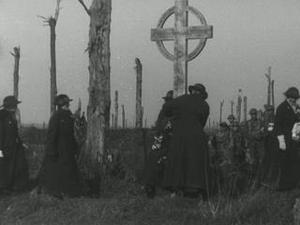 SOUTH AFRICANS HOLD A MEMORIAL SERVICE IN DELVILLE WOOD [Main Title]