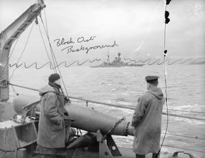 ON BOARD THE DESTROYER HMS KELVIN. 1941.