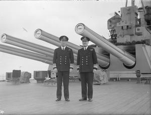 VICE ADMIRAL SIR BRUCE FRASER BRITAIN'S NEW C-IN-C HOME FLEET. 23 MARCH 1943, SCAPA FLOW.