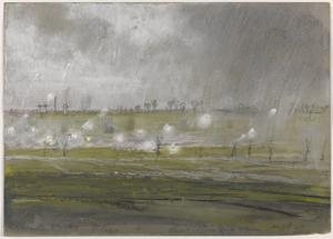 Opposite Wingles 1st Corps Thunderstorm Raid, 8pm August 28 1917