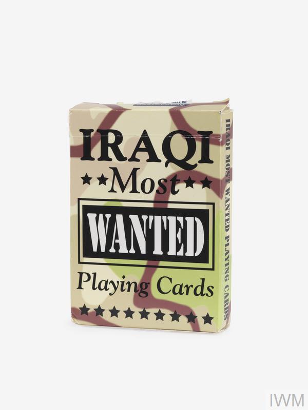 IRAQI MOST WANTED Playing Cards Iraq War-Saddam Sealed …