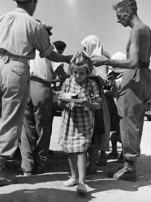 ROYAL NAVY GIVE RELIEF TO EARTHQUAKE DEVASTATED GREEK IONIAN ISLANDS. AUGUST 1953, AT MALTA AND ON THE ISLANDS.