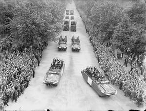 ALLIED VICTORY PARADE IN LONDON, 1946