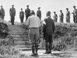 JAPANESE SURRENDER IN MALAYA, 1945