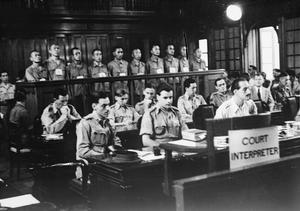 TRIAL OF JAPANESE WAR CRIMINALS IN SINGAPORE