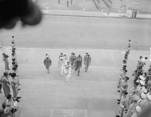 THE JAPANESE SOUTHERN ARMIES SURRENDER AT SINGAPORE, 1945