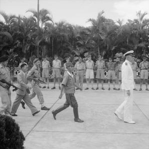 THE JAPANESE SURRENDER AT HONG KONG, 1945