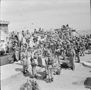 THE LIBERATION OF RHODES, 1945