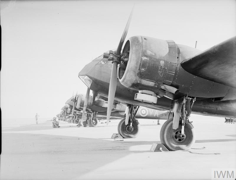 AIRCRAFT OF THE ROYAL AIR FORCE 1939-1945: BRISTOL TYPE 142M BLENHEIM I