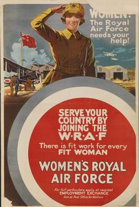 Women! The Royal Air Force Needs Your Help!