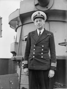 MEN OF THE BRITISH DESTROYER EXMOOR. 11 TO 15 MARCH 1944, NAPLES, ON BOARD THE HUNT CLASS DESTROYER HMS EXMOOR.