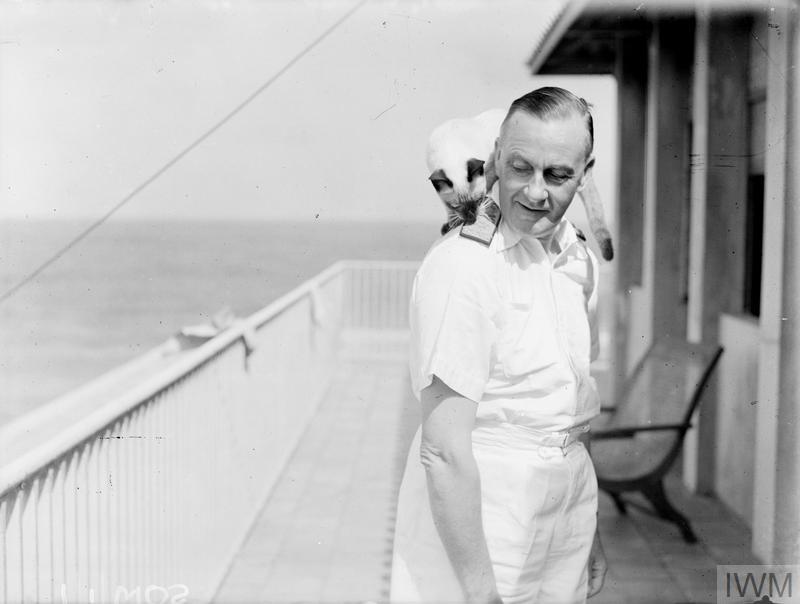 ADMIRAL SIR JAMES SOMERVILLE, GCB, KCB, DSO. 20 AUGUST 1944, CEYLON. ADMIRAL SOMERVILLE, FORMERLY C IN C EASTERN FLEET HAS LEFT THE FAR EAST TO TAKE UP A NEW APPOINTMENT.