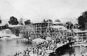 CONSTRUCTION OF THE BURMA-SIAM RAILWAY BY ALLIED PRISONERS OF WAR.
