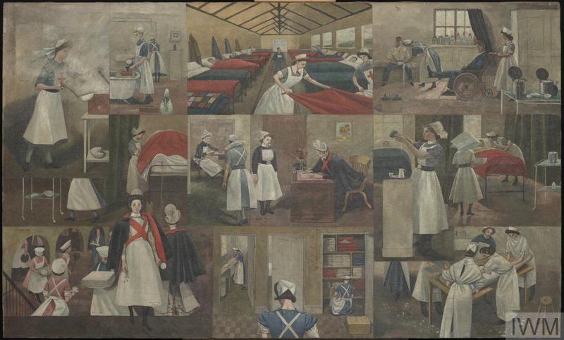 St Thomas's Hospital In Evacuation Quarters