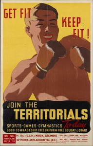 GET FIT KEEP FIT - JOIN THE TERRITORIALS
