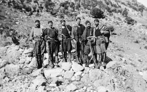 SPECIAL OPERATIONS EXECUTIVE WITH THE EDES (NATIONAL REPUBLICAN GREEK LEAGUE) RESISTANCE MOVEMENT IN GREECE DURING THE SECOND WORLD WAR
