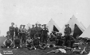 THE 2ND BATTALION, ROYAL MUNSTER FUSILIERS 1910