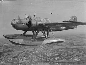 FOREIGN AIRCRAFT IN ROYAL AIR FORCE SERVICE, 1939-1945: FOKKER T-VIIIW.
