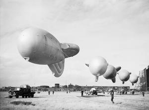 ROYAL AIR FORCE BALLOON COMMAND, 1939-1945.