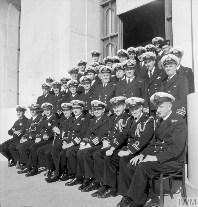 Royal Navy Rn Officers 1939 1945 B