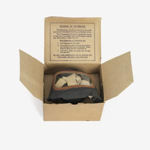 Respirator, anti-gas, General Civilian (boxed): British