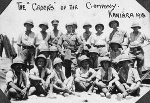 THE 53RD (WELSH) DIVISION CYCLIST COMPANY IN EGYPT & PALESTINE 1916 - 1919