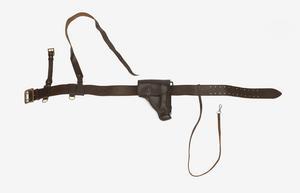 Belt, Cross-Brace, & Pistol Holster: Officer's, Soviet Army