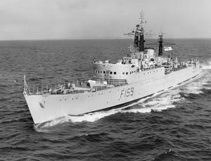 SHIPS OF THE ROYAL NAVY 1945-1980