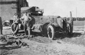 ROYAL NAVAL AIR SERVICE ARMOURED CARS WITH THE IMPERIAL RUSSIAN ARMY DURING THE FIRST WORLD WAR