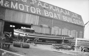 BOAT AND SHIP BUILDING DURING THE FIRST WORLD WAR