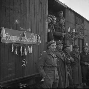 REPATRIATION OF TROOPS OF THE 2ND POLISH CORPS FROM ITALY TO POLAND, 1945-1946