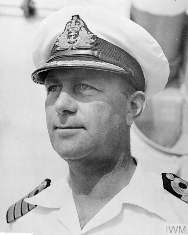 Captain E Rollo Mainguy, OBE, RCN  - British & Commonwealth