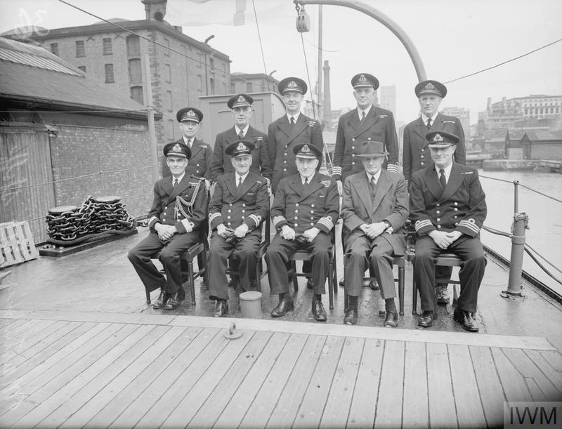 Royal Navy Rn Officers 1939 1945 T