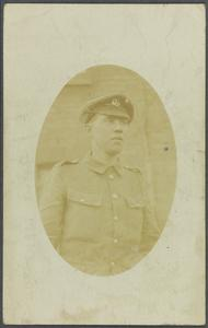 Papers Relating to the Death of Lance Corporal C J Frampton, First World War
