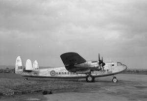 AIRCRAFT OF THE ROYAL AIR FORCE: AVRO 685 YORK.