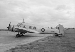 AIRCRAFT OF THE ROYAL AIR FORCE: AVRO 652A ANSON.