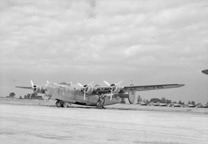 AMERICAN AIRCRAFT IN ROYAL AIR FORCE SERVICE: CONSOLIDATED MODEL 32 LIBERATOR.