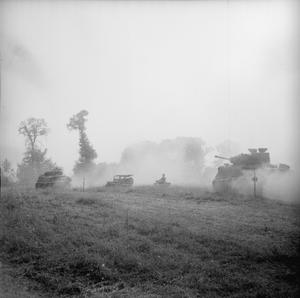 WITH THE BRITISH FORCES SOUTH OF CAUMONT
