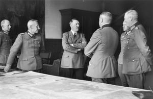 ADOLF HITLER AND HIS ENTOURAGE, 1937 - 1941